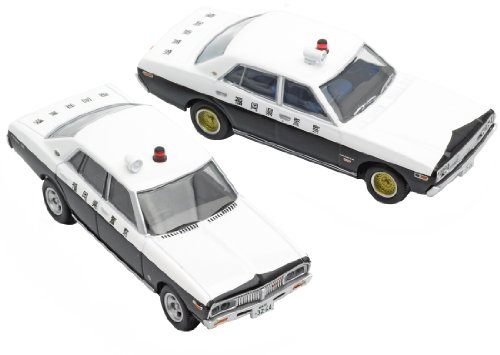トミカリミテッド ヴィンテージ NEO 西部警察08 グロリア/ローレル パトロールカー2台セット
