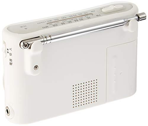 SONY FM/AMハンディーポータブルラジオ ホワイト ICF-51/W B00362NO4I 1枚目