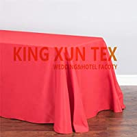 Black White Thick Poly Table Cloth Wedding Tablecloth Hotel Event Party Decoration