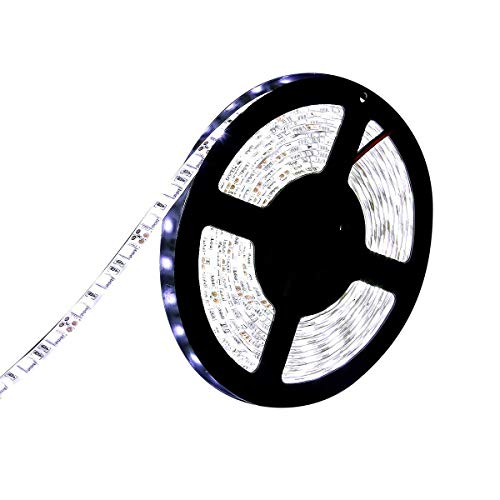 LEDイルミネーション LEDテープ 防水 24V 5m 300連 SMD5050 ホワイト白ベース 正面発光 LEDイルミネーション 切断可能
