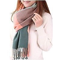 Women's Winter Scarf Classic Tassel Plaid Scarves Wrap Shawl for Women Warm Fashion Scarfs