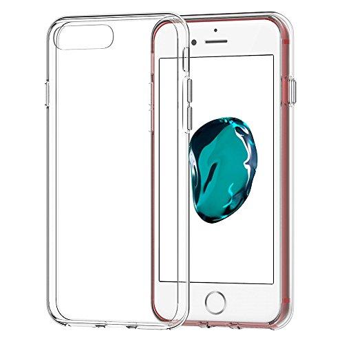 AVIDET For Apple iPhone 8 Plus ケース 衝撃吸収バンパー アンチスクラッチ ソフト iPhone8 Plus TPU アイフォン8 Plus ケース (クリア)