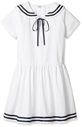 57b483082ec05 超ナイス ドレス 海軍風 女の子 並行輸入品 ホワイト 100 : Amazon・楽天・ヤフー等の通販価格比較  最安値.com
