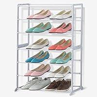 靴ラックシンプルな靴ラックシェルフラック7階靴ラックホワイト靴ラック(靴ラックのみ含む)