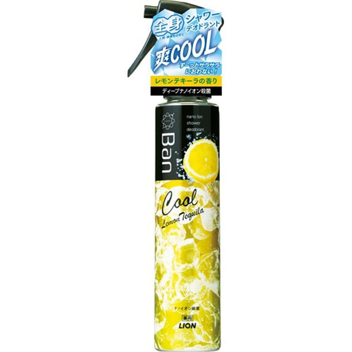 バラエティ有効化調査Ban シャワーデオドラントクールタイプ レモンテキーラの香り 120ml (医薬部外品)