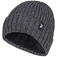 Heat Holders Men's Warm Winter Thermal Turn Over Beanie