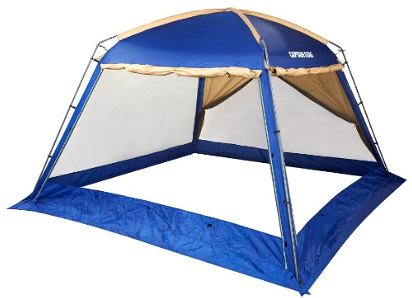 サイレントレギュラー不十分なキャプテンスタッグ(CAPTAIN STAG) キャンプ用品 テント オルディナ リビングスクリーンドーム340UVM-3171