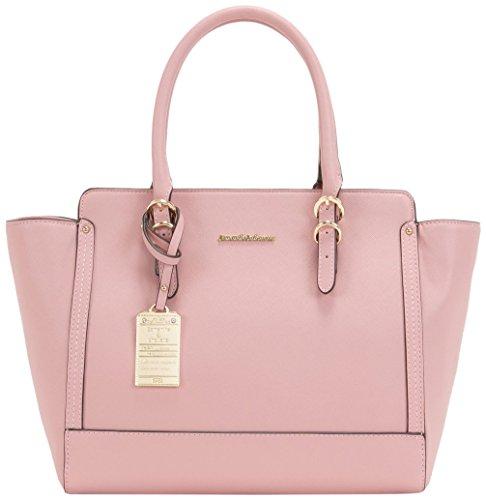 [セット品] ギフトラッピング済 サマンサタバサ サマンサ シュエット シンプル トートバッグ ブランド バッグ ハンドバッグ (ピンク)