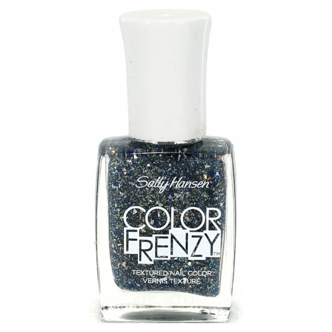病なストッキングシリーズ(6 Pack) SALLY HANSEN Color Frenzy Textured Nail Color - Sea Salt (並行輸入品)