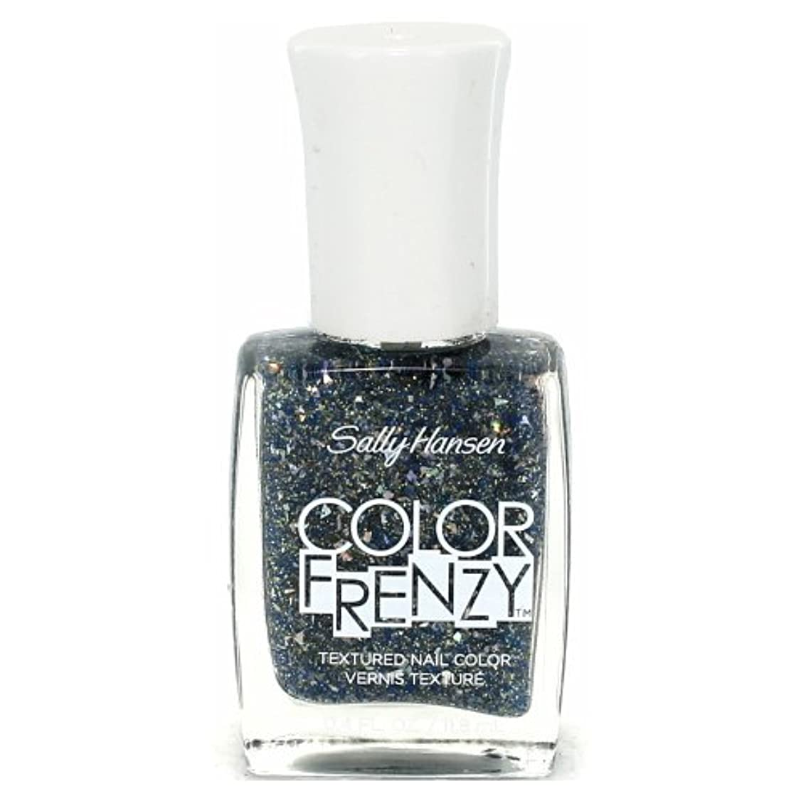 ラフ瞑想的高音(6 Pack) SALLY HANSEN Color Frenzy Textured Nail Color - Sea Salt (並行輸入品)