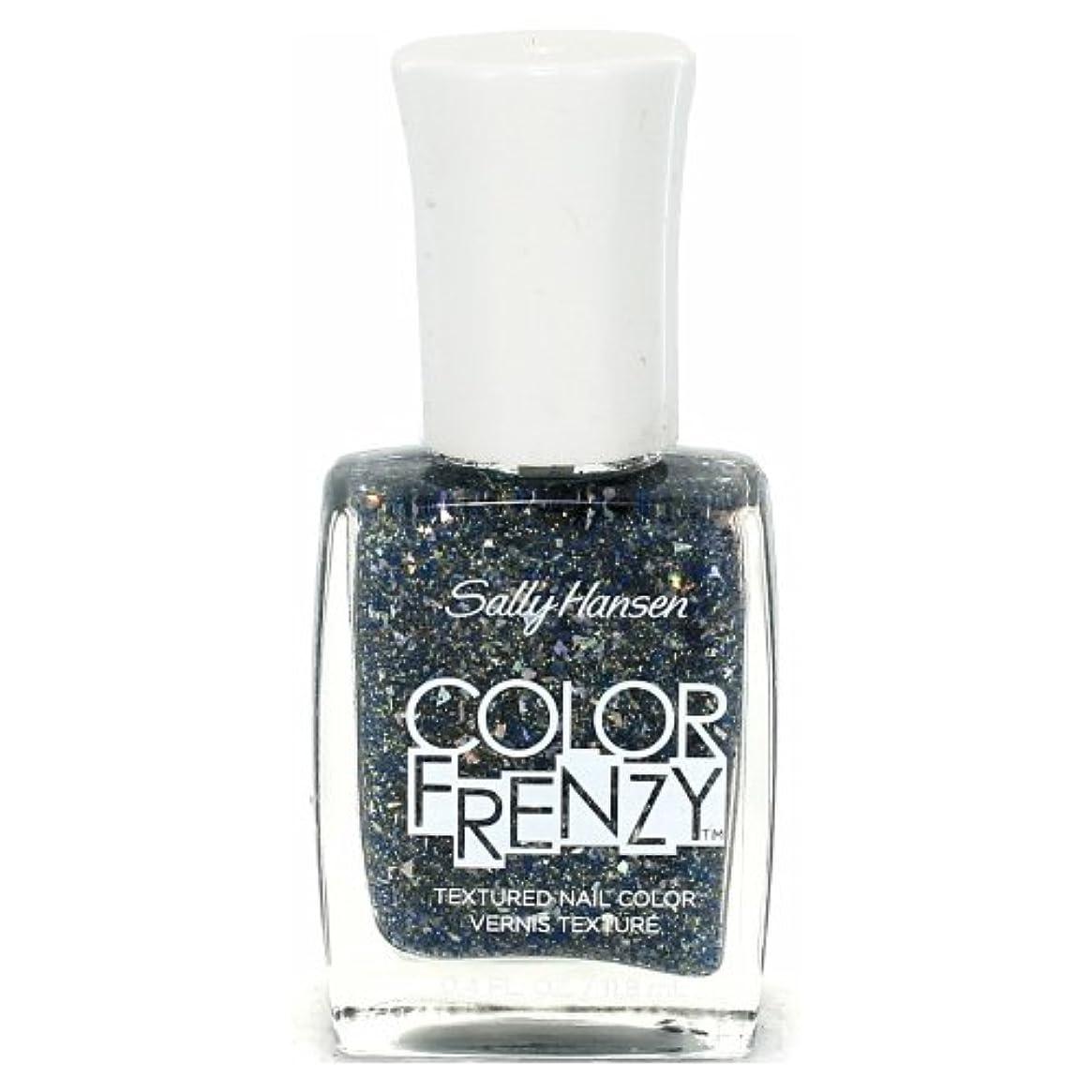 いう突然ミント(3 Pack) SALLY HANSEN Color Frenzy Textured Nail Color - Sea Salt (並行輸入品)