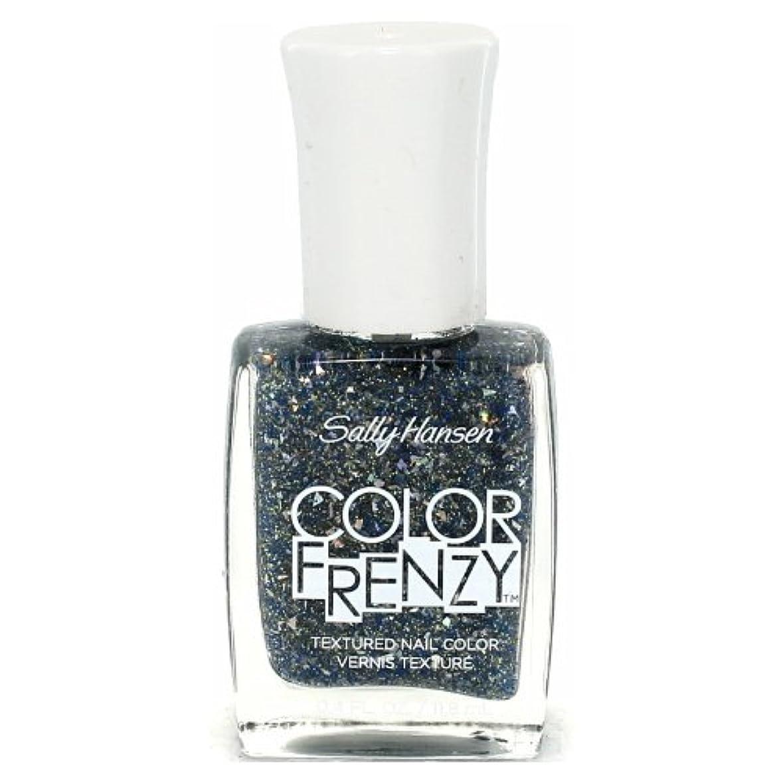 活気づくポジション皮肉(6 Pack) SALLY HANSEN Color Frenzy Textured Nail Color - Sea Salt (並行輸入品)