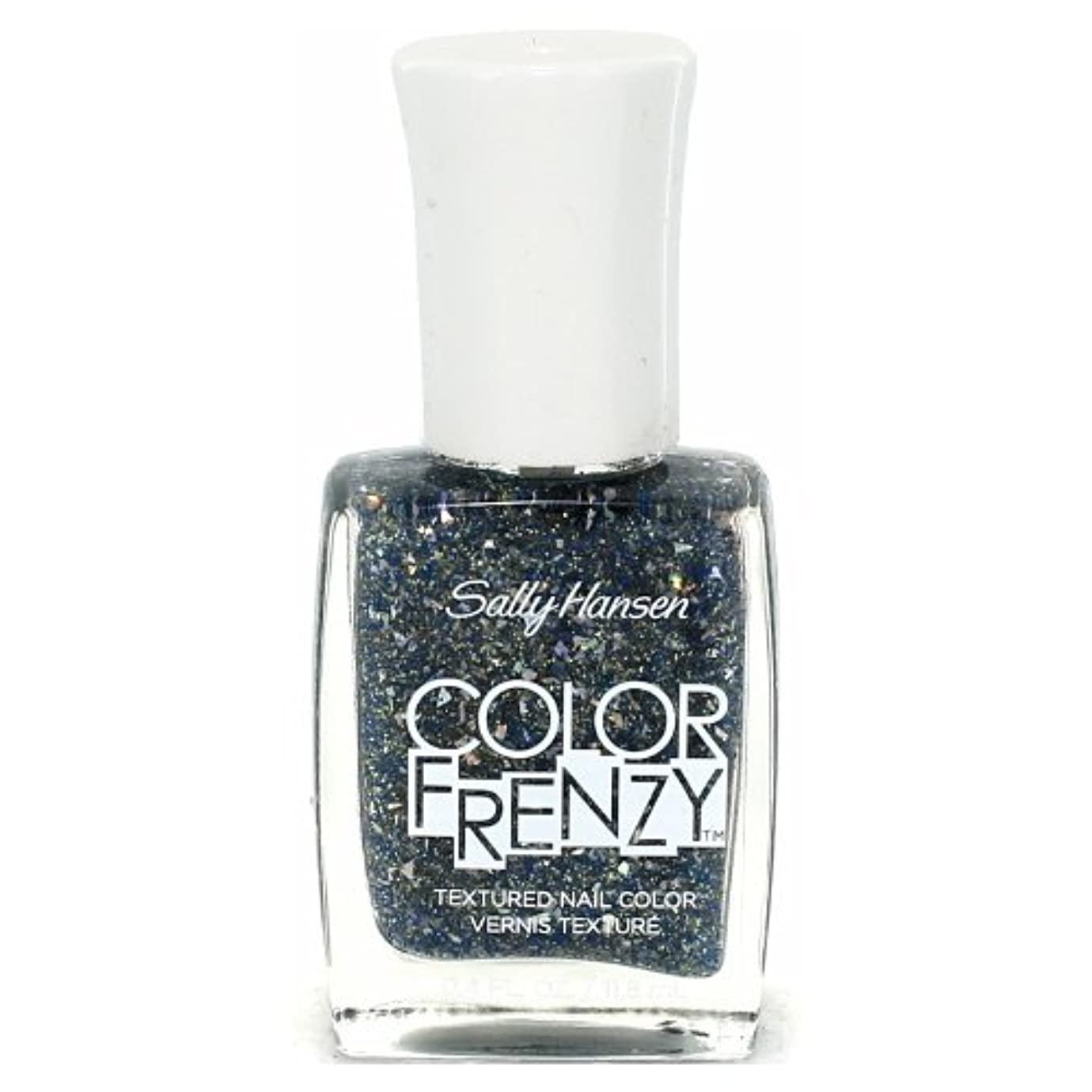 写真撮影刺す国内の(6 Pack) SALLY HANSEN Color Frenzy Textured Nail Color - Sea Salt (並行輸入品)
