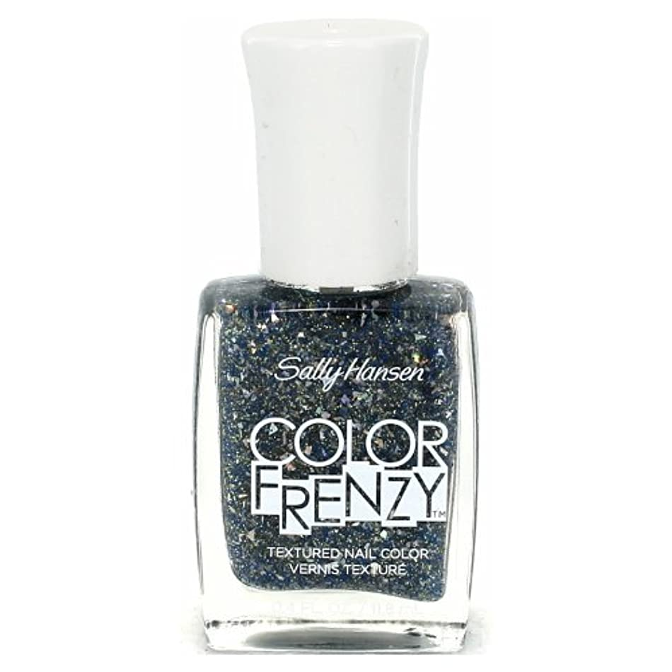 で評議会想定する(3 Pack) SALLY HANSEN Color Frenzy Textured Nail Color - Sea Salt (並行輸入品)