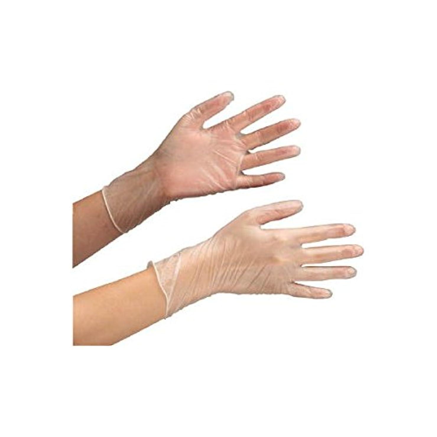突き刺す任命大学ミドリ安全/ミドリ安全 塩化ビニール製 使い捨て手袋 粉付 100枚入 SS(3889394) VERTE-853-SS [その他]