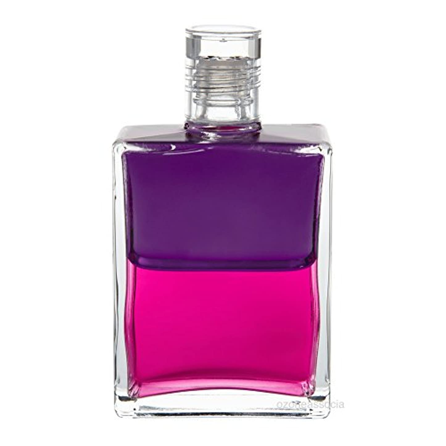 憂鬱な落ち着くクラウンオーラソーマ ボトル 25番  回復期/ナイチンゲールのボトル (パープル/マゼンタ) イクイリブリアムボトル50ml Aurasoma