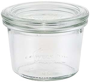 ウェック Mold Shape ガラス キャニスター 80ml WE-080