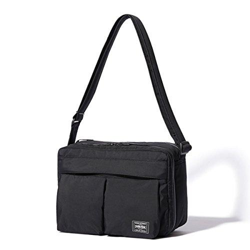 (ヘッド・ポーター) HEADPORTER YUKON SHOULDER BAG (L) BLACK
