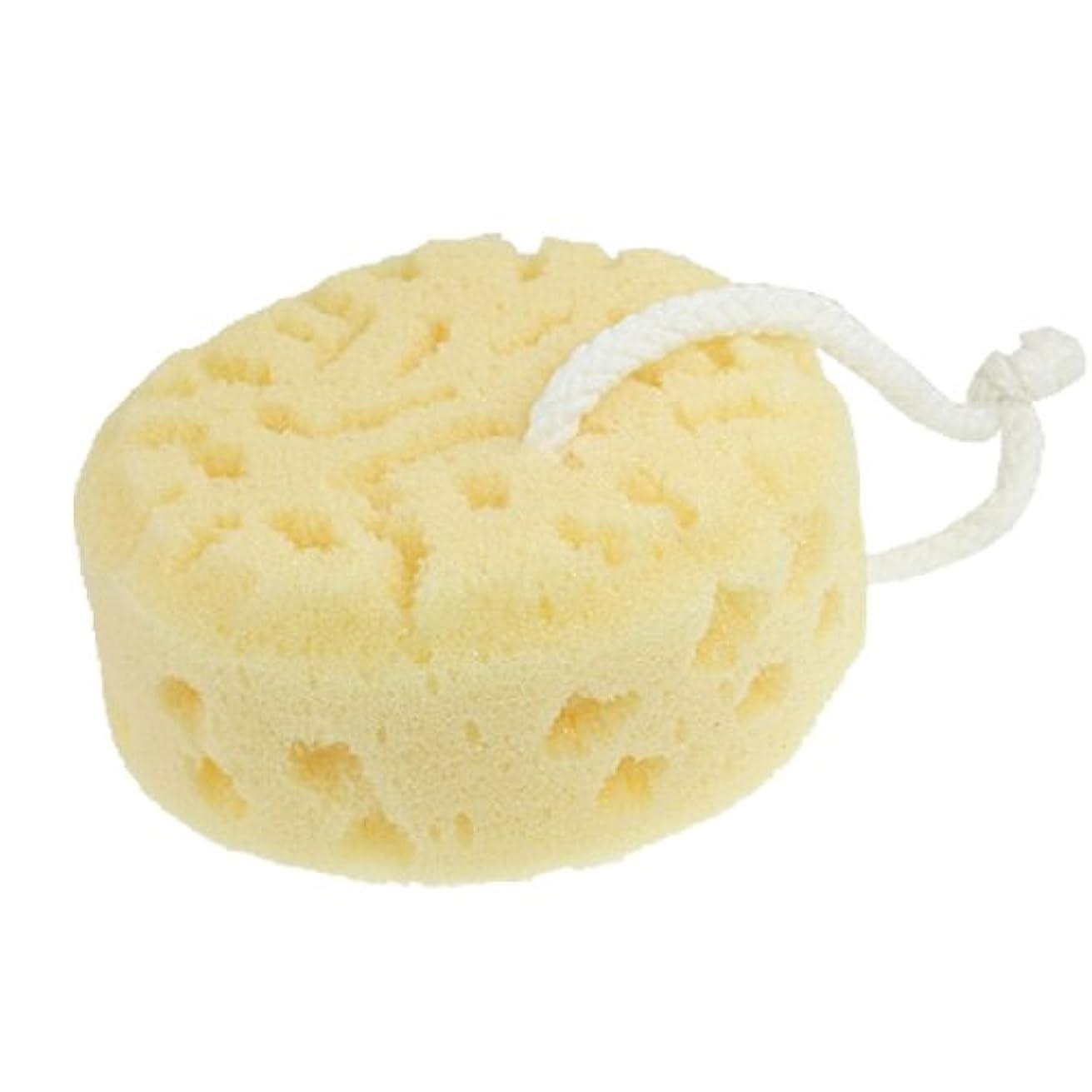 蓋抜粋火炎uxcell 浴用スポンジ バススポンジ バス洗い用 柔らかい ベッジ 丸型 パーフループ  スクラッバー