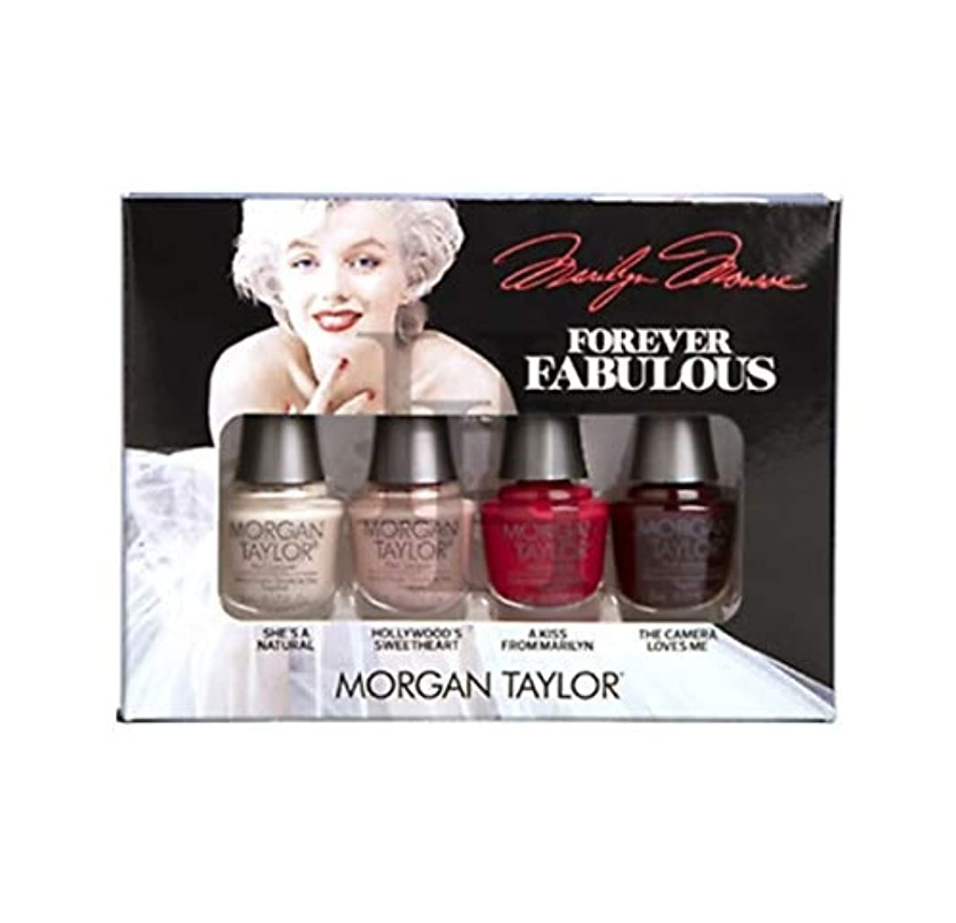 雨汚物コンパスMorgan Taylor - Forever Fabulous Marilyn Monroe Mini 4 Pack - 5 mL / 0.17 oz