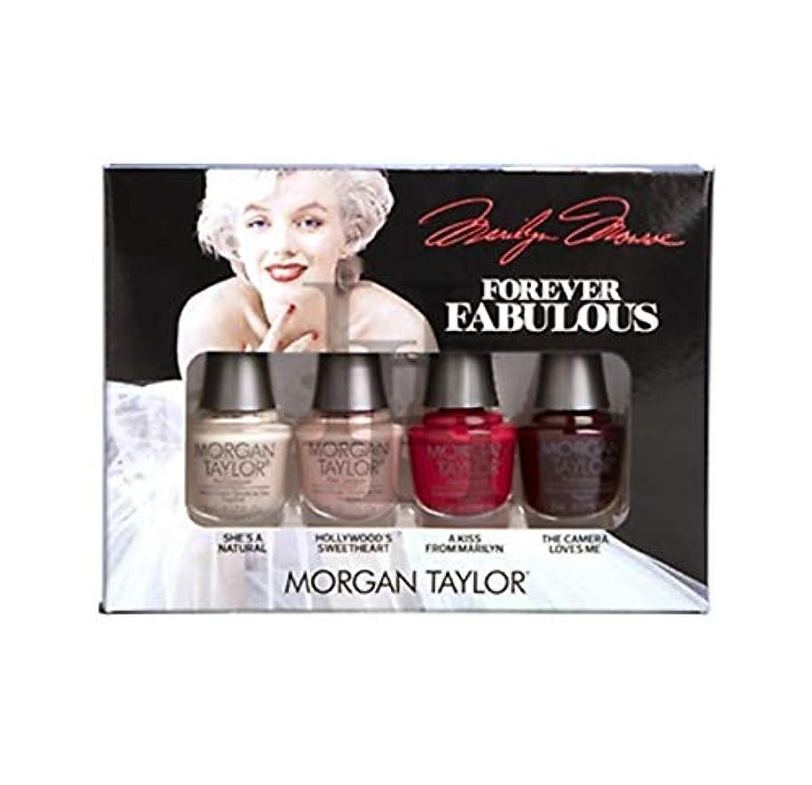 海上出撃者捕虜Morgan Taylor - Forever Fabulous Marilyn Monroe Mini 4 Pack - 5 mL / 0.17 oz