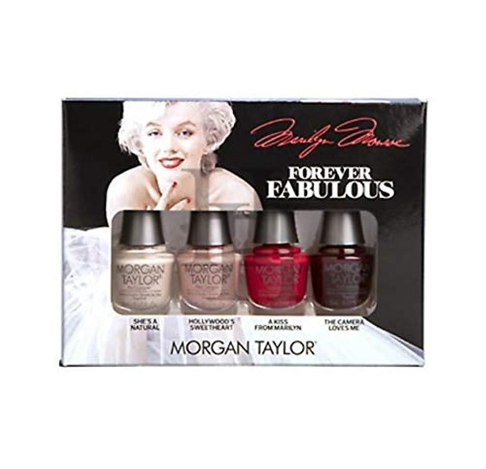 マイクロプロセッサ水没に賛成Morgan Taylor - Forever Fabulous Marilyn Monroe Mini 4 Pack - 5 mL / 0.17 oz
