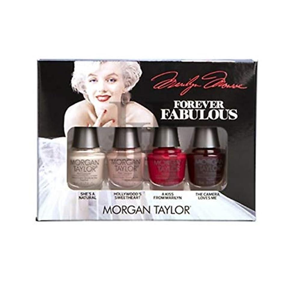 変形する宿泊好色なMorgan Taylor - Forever Fabulous Marilyn Monroe Mini 4 Pack - 5 mL / 0.17 oz