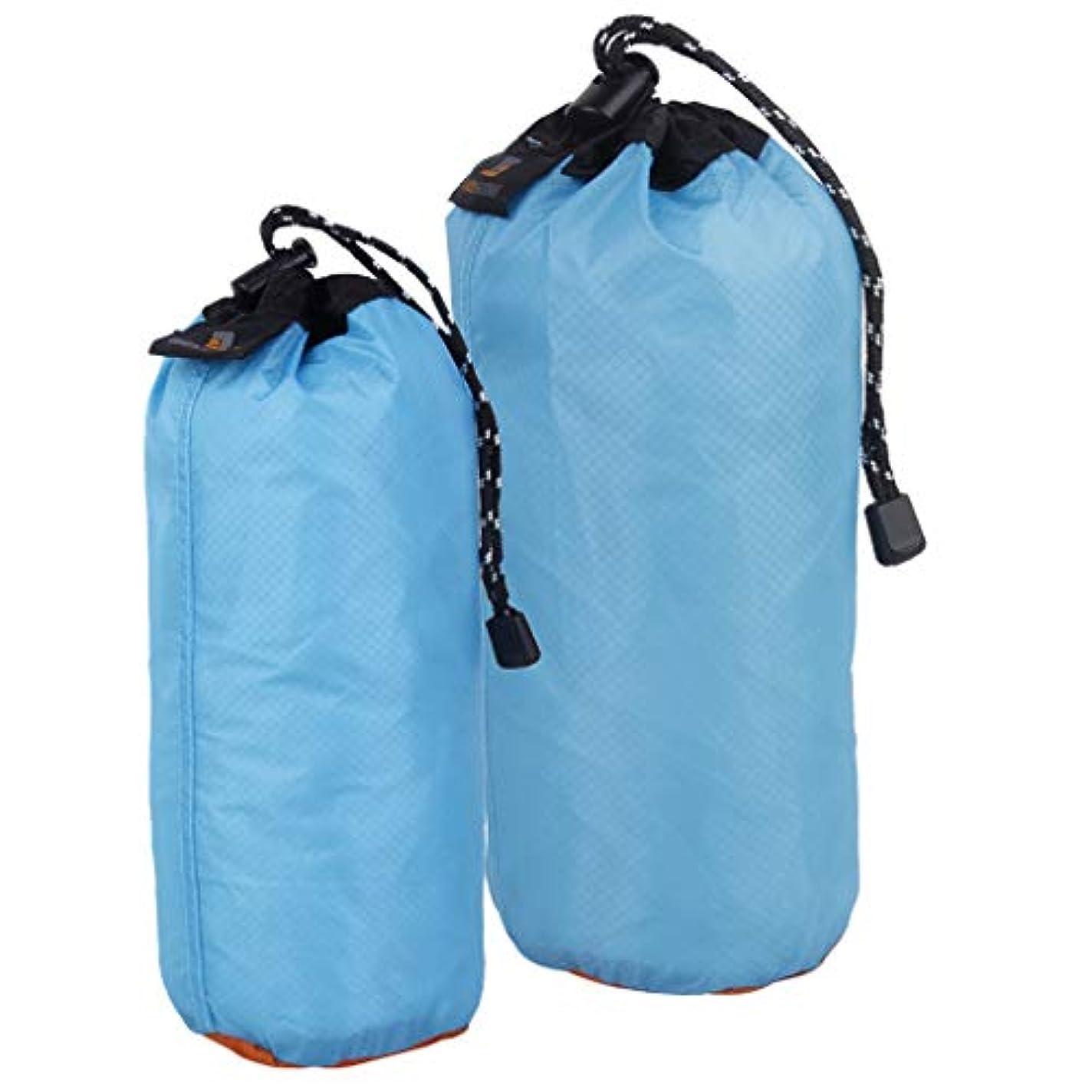乗り出すに応じてラショナルperfk ナイロン 2個 超軽量 巾着袋 ポーチ ビーチ スイミング キャンプ 旅行