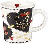 サンリオ(SANRIO) 「 Hello Kitty(ハローキティ) 」 キティ 小悪魔 マグカップ 270ml ブラック 509112
