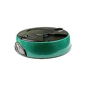 ベストアンサー 自動給餌器 オートペットフィーダー 最大6回分 ダークグリーン