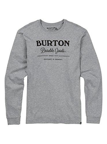 [해외]Burton (버튼) T 셔츠 긴팔 남성 DURABLE GOODS LONG SLEEVE T SHIRT/Burton (Burton) T-shirt Long Sleeve Men`s DURABLE GOODS LONG SLEEVE T SHIRT