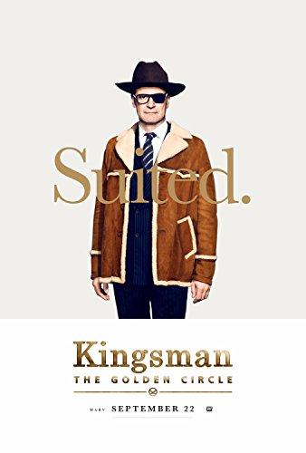 キングスマン: ゴールデン・サークル☆90×60cm☆海外 レア☆シルク調☆ファブリック ポスター☆キングスマン2
