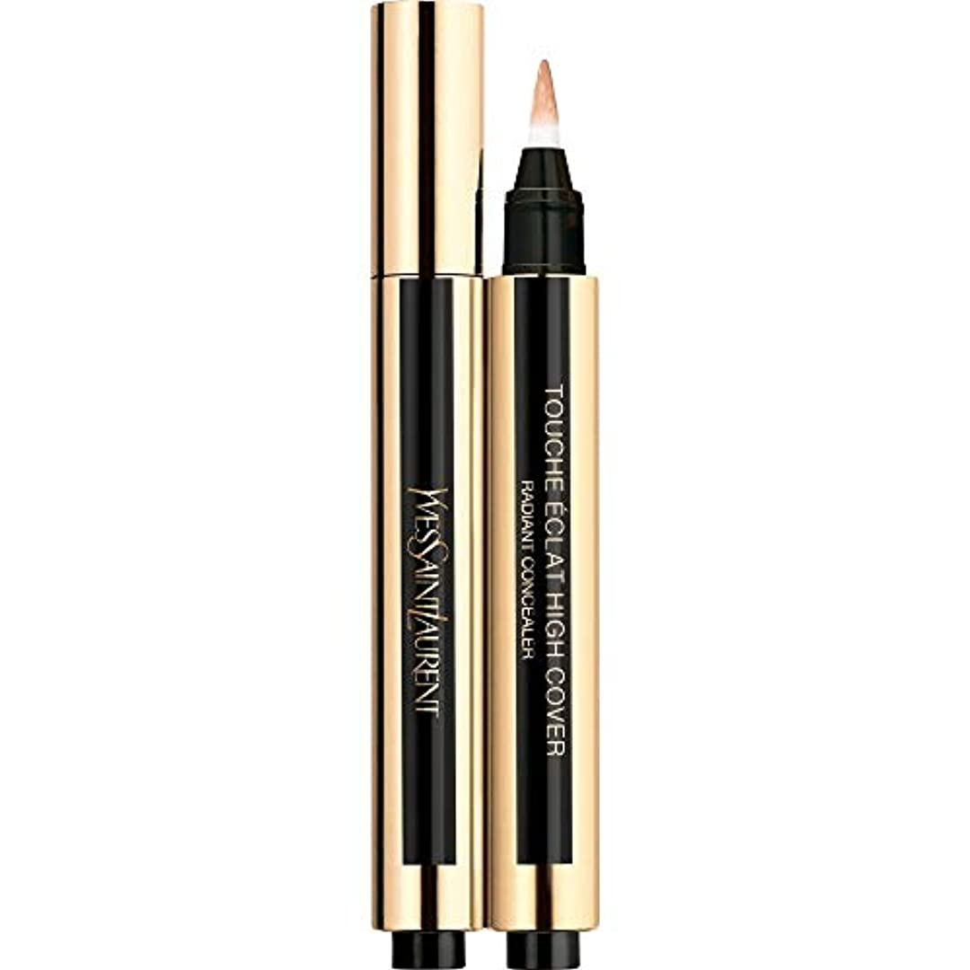 非公式アイスクリーム鬼ごっこ[Yves Saint Laurent] 4 2.5ミリリットルイヴ?サンローランのトウシュエクラ高いカバー放射コンシーラーペン - 砂 - Yves Saint Laurent Touche Eclat High Cover Radiant Concealer Pen 2.5ml 4 - Sand [並行輸入品]