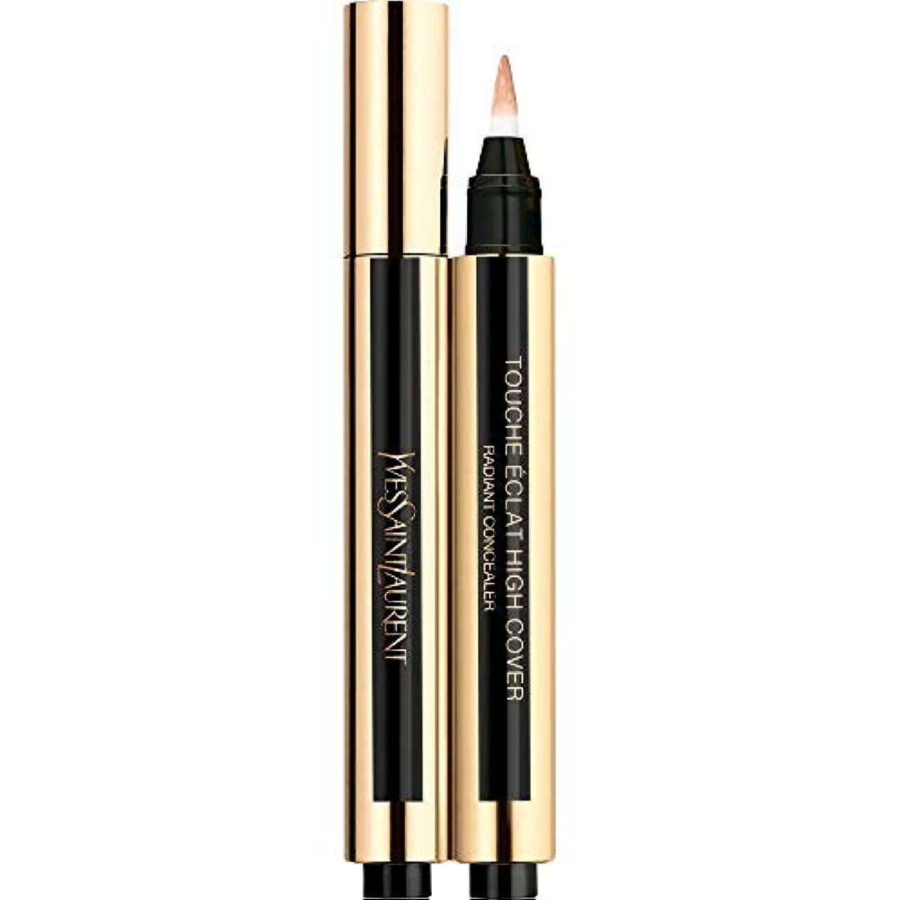 半円持続的心臓[Yves Saint Laurent] 4 2.5ミリリットルイヴ・サンローランのトウシュエクラ高いカバー放射コンシーラーペン - 砂 - Yves Saint Laurent Touche Eclat High Cover Radiant Concealer Pen 2.5ml 4 - Sand [並行輸入品]