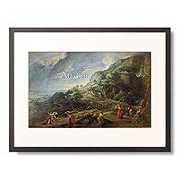 ピーテル・パウル・ルーベンス Peter Paul Rubens 「Ulysses on the Phaecian Island.」 額装アート作品