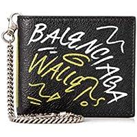 (バレンシアガ)BALENCIAGA ヴィンテージクラフトラムスキンレザー 二つ折り財布 メンズ 新品