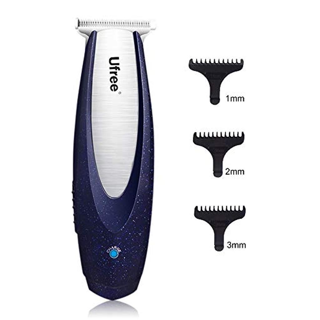 インスタンス実際の情報プロのヘアクリッパーコードレスクリッパー散髪キットは1mm 2mmの3mmの髪Revmoal機充電式男性ヘアートリマー
