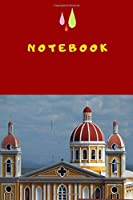 Notebook: This cool cover notebook/journal comes in 6 x 9 with a nice granada-motiv, wide ruled line paper