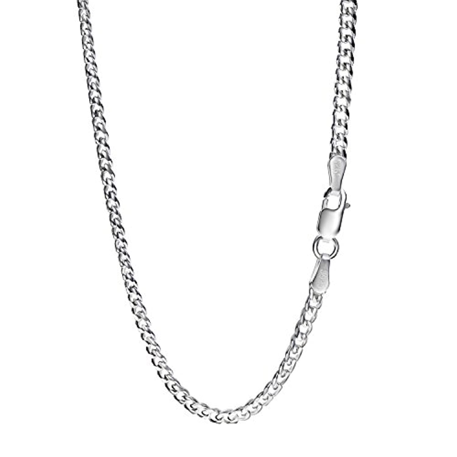 [REOTTI] 喜平チェーン ネックレス シルバー925 sv925 幅2.8mm 長さ45~50cm silver necklace