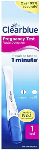 Clearblue Rapid Detection Pregnancy Test, 1 Count