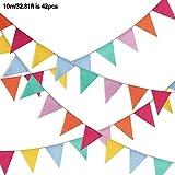 三角旗 ガーランド 麻布 お誕生日 飾り付け バナー 誕生日祝い パーティー デコレーション 装飾 フラッグガー 結婚式 壁飾り 人気 クリスマス 三角形 パターン DIY