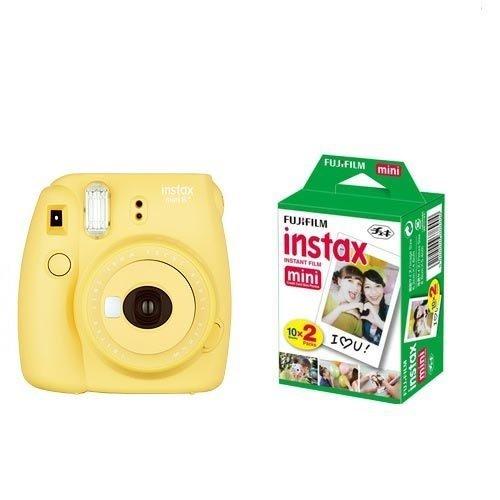 FUJIFILM インスタントカメラ instax mini 8+(プラス) ハニー&フイルム20枚セット
