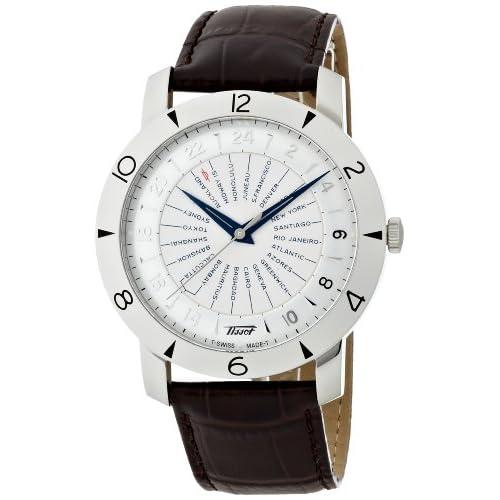 [ティソ]TISSOT 腕時計 Heritage(ヘリテージ) ワールドタイマー the 160th Anniversary(160周年記念モデル) クロノメーター認定ムーブメント搭載 T0786411603700 メンズ 【正規輸入品】