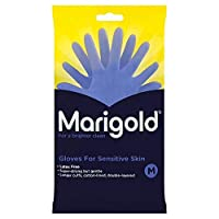 [Marigold] マリーゴールド敏感手袋媒体1ペア - Marigold Sensitive Gloves Medium 1 Pair [並行輸入品]