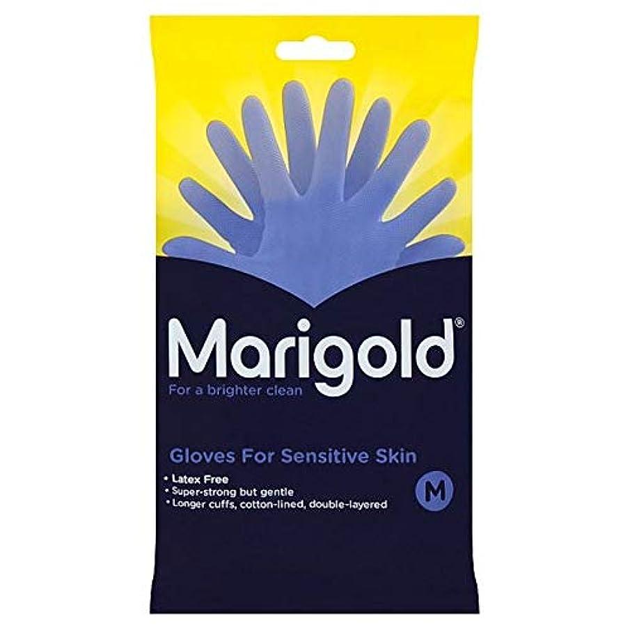 読むセッティング他の場所[Marigold] マリーゴールド敏感手袋媒体1ペア - Marigold Sensitive Gloves Medium 1 Pair [並行輸入品]
