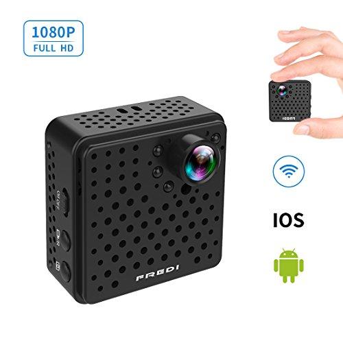 FREDI 超小型 隠しカメラ WiFi 長時間録画対応 防犯カメラ 108...