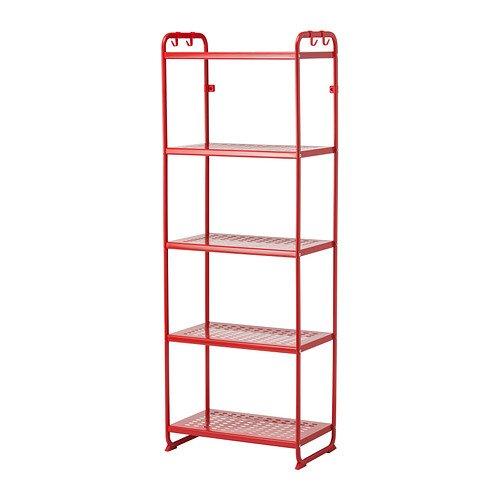RoomClip商品情報 - IKEA(イケア) MULIG シェルフユニット レッド