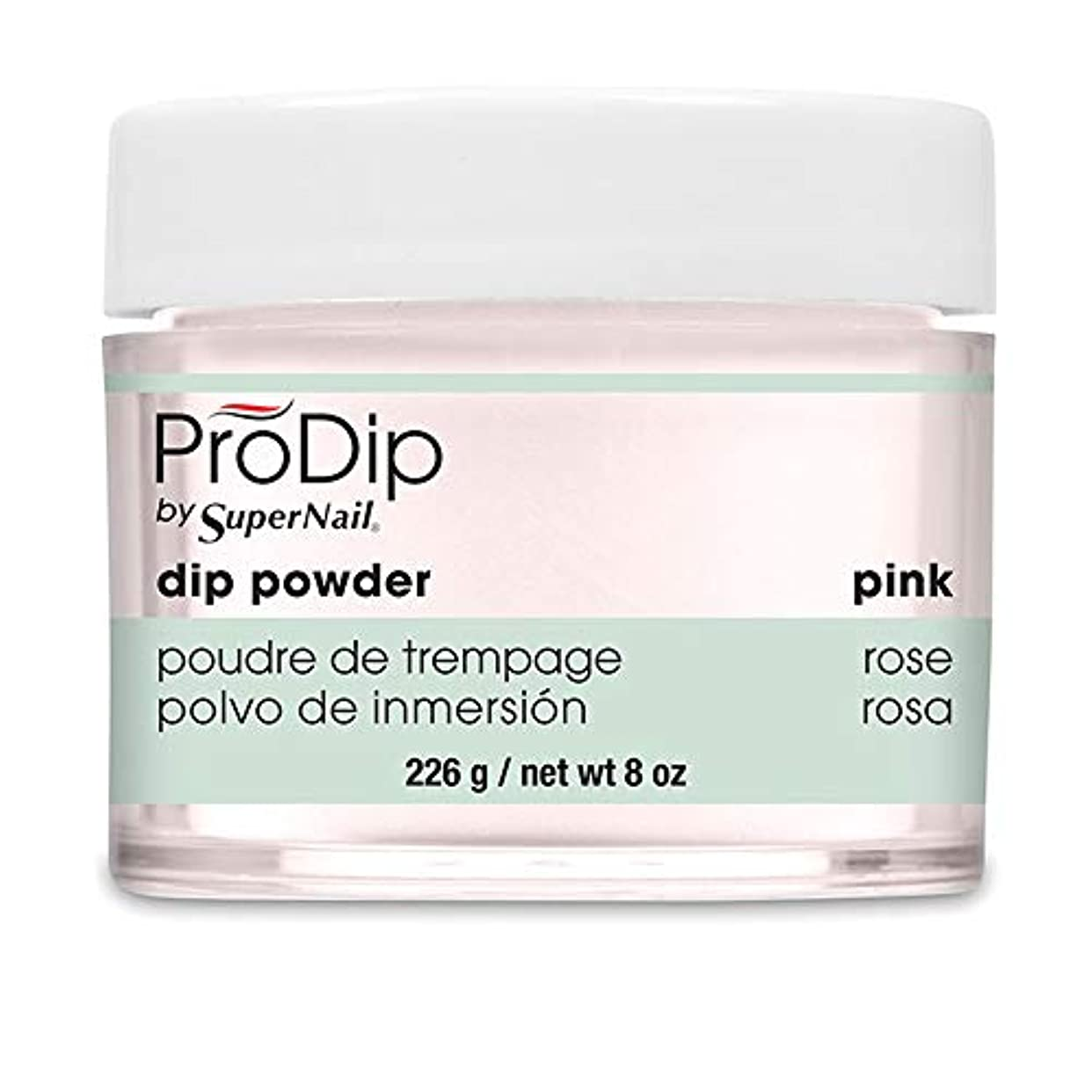 言い訳不愉快許容SuperNail - ProDip - Dip Powder - Pink - 226 g/8 oz