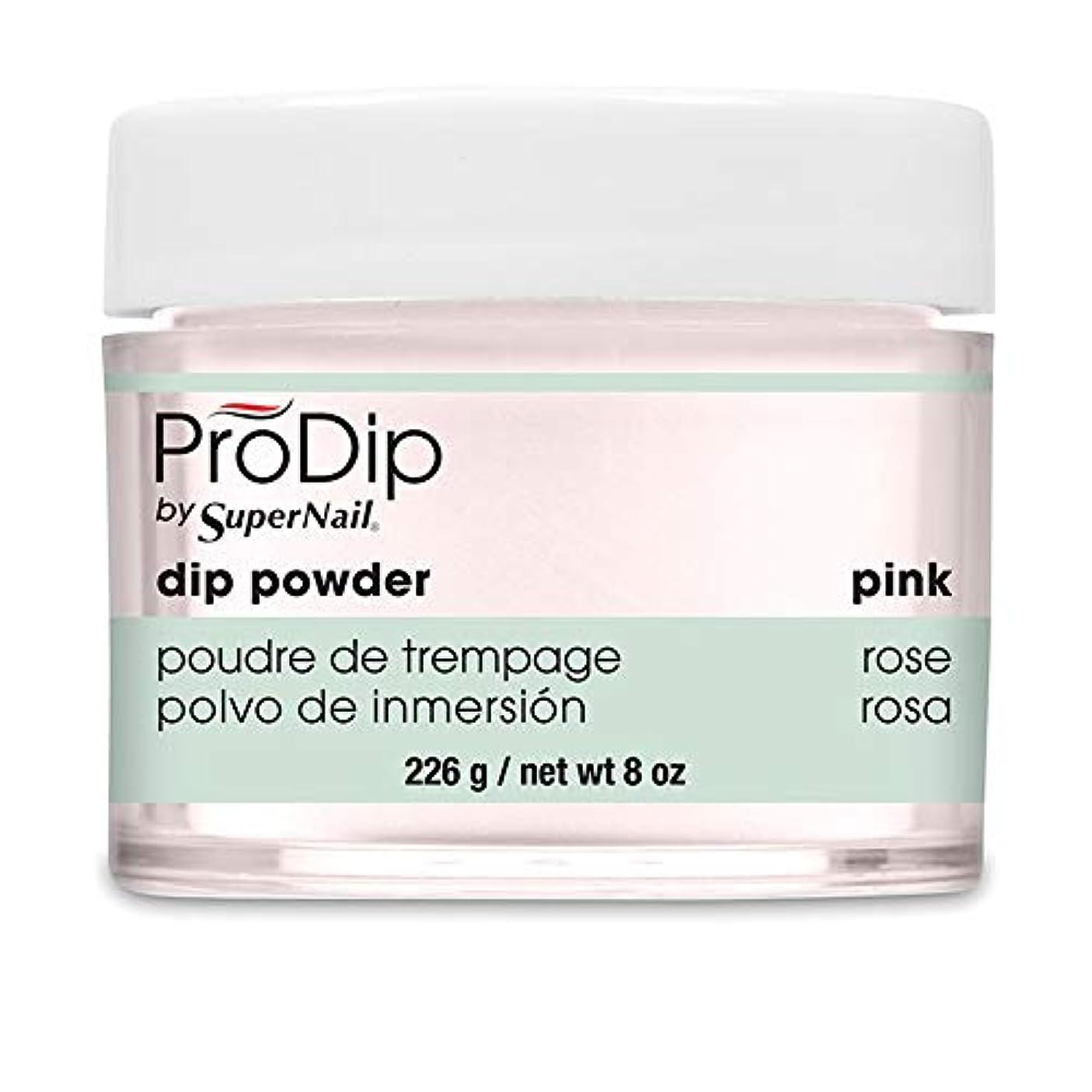 食堂カーフ財団SuperNail - ProDip - Dip Powder - Pink - 226 g/8 oz
