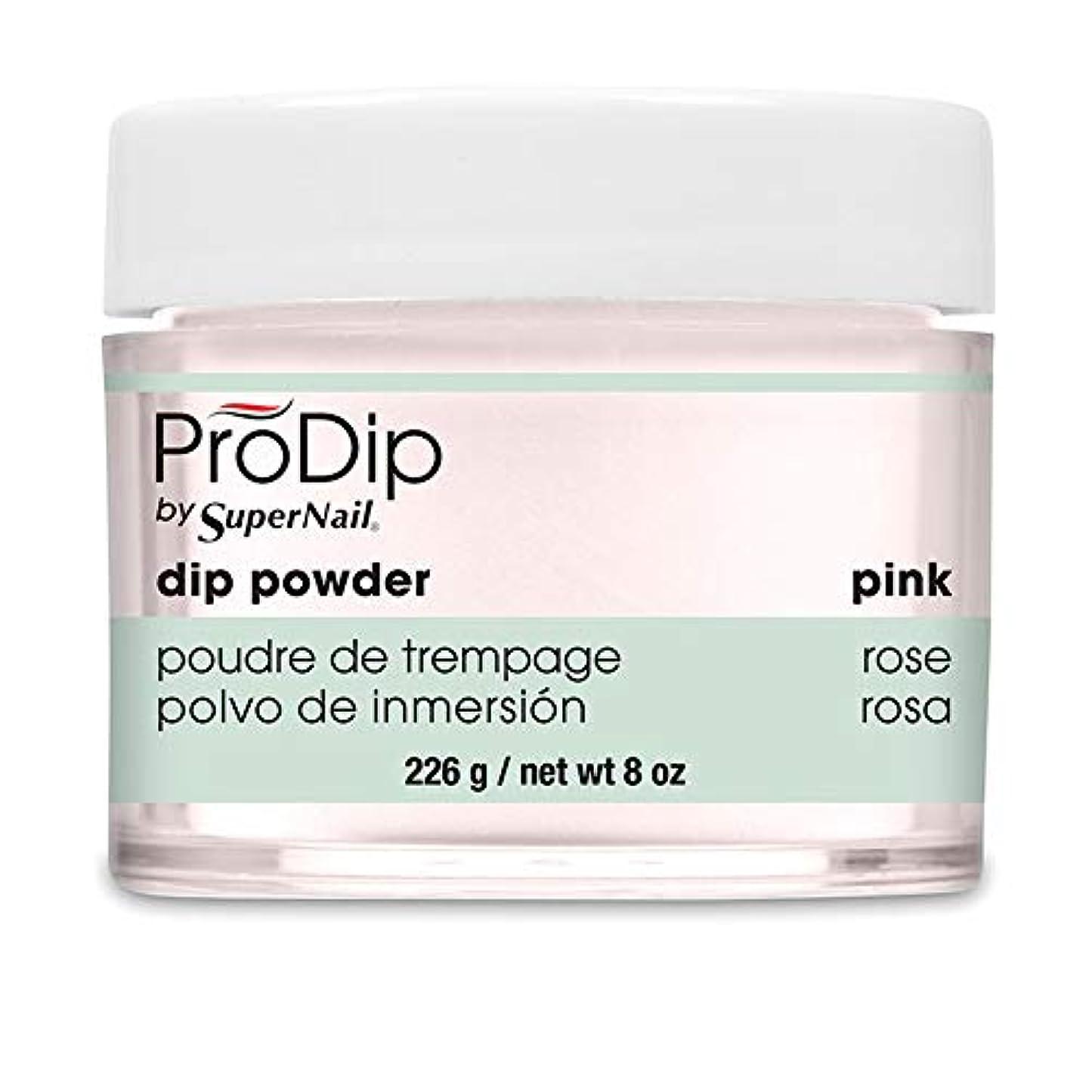 上流の石ヒューマニスティックSuperNail - ProDip - Dip Powder - Pink - 226 g/8 oz